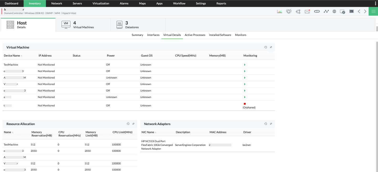Hyper-V Management Software - ManageEngine OpManager