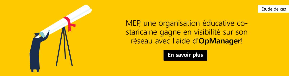MEP case study