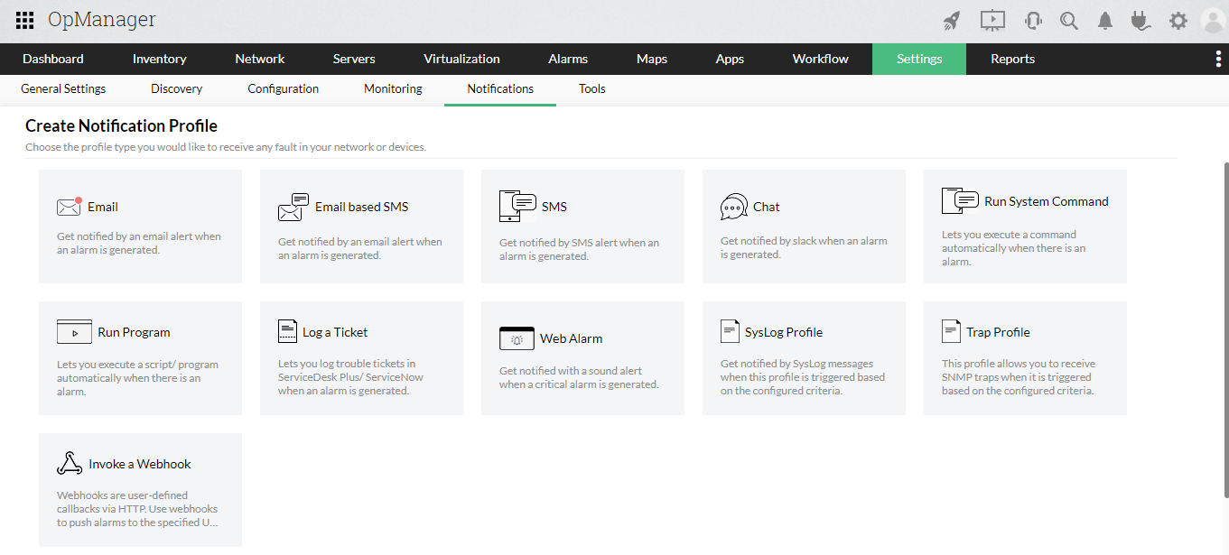 Network device performance management software - ManageEngine OpManager
