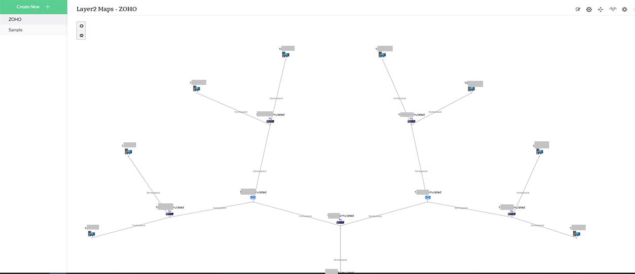Cartes Layer2 - Une représentation schématique de la topologie de votre réseau - ManageEngine OpManager