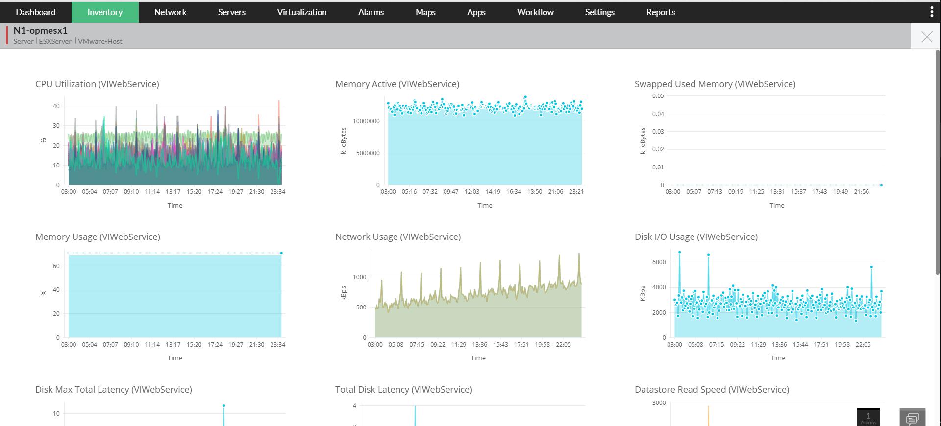 Outils de test de réseau - ManageEgnine OpManager
