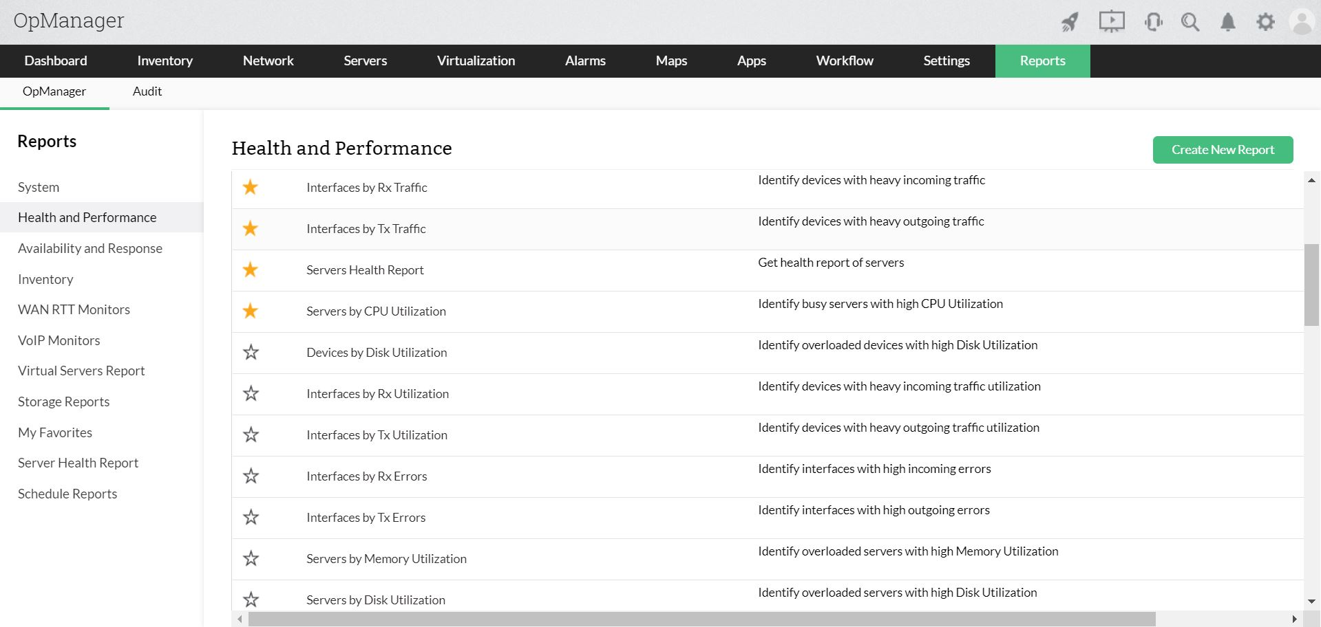 Monitor VMware - ManageEngine OpManager