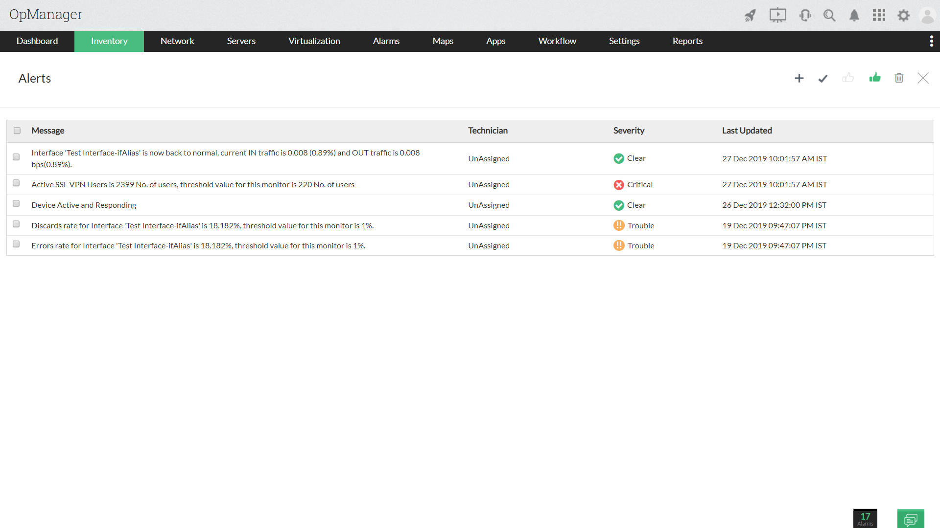 VPN Monitoring Software - ManageEngine OpManager
