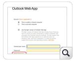 Self service password Outlook Web Access