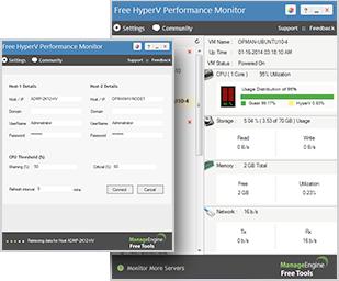 Free HyperV Performance Monitor Tool