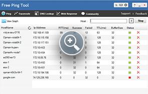 Ping Tool - ManageEngine Free Tools