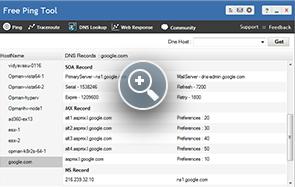 DNS Lookup - ManageEngine Free Tools