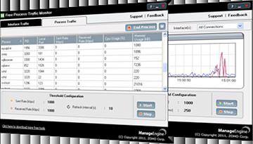 Free Process Traffic Monitor Tool