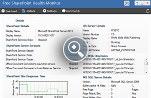 SharePoint Performance Monitor - ManageEngine Free Tools