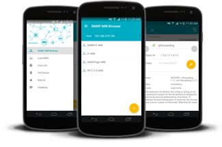 Free SNMP MIB Browser Android Tool