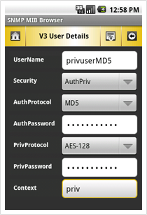 V3 User Details View