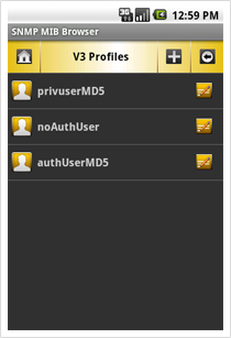 V3 Profiles View