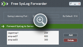 Syslog Forwarder - ManageEngine Free Tools