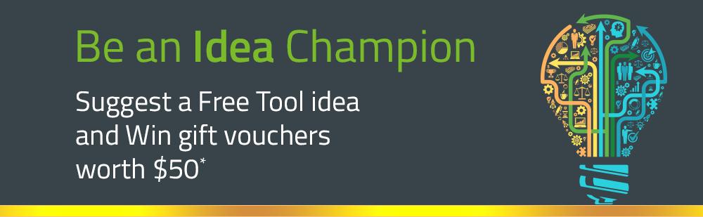 Free Tools Idea