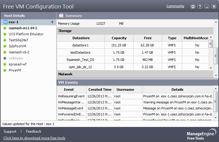 Free VM Configuration Tool yuw work to notebook download