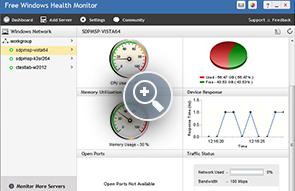 Monitor de salud gratuito de Windows - Herramientas gratuitas de ManageEngine