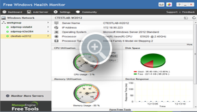 Windows Performance Reports - ManageEngine Free Tools