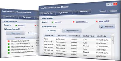 Free Windows Service Monitor Tool