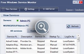 Free Windows Service Monitoring Tool – ManageEngine