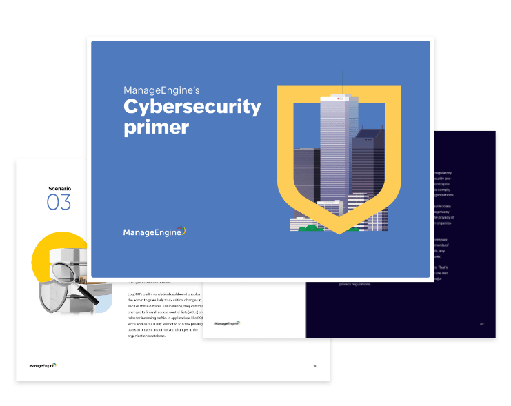 Download ManageEngine's cybersecurity solutions guide