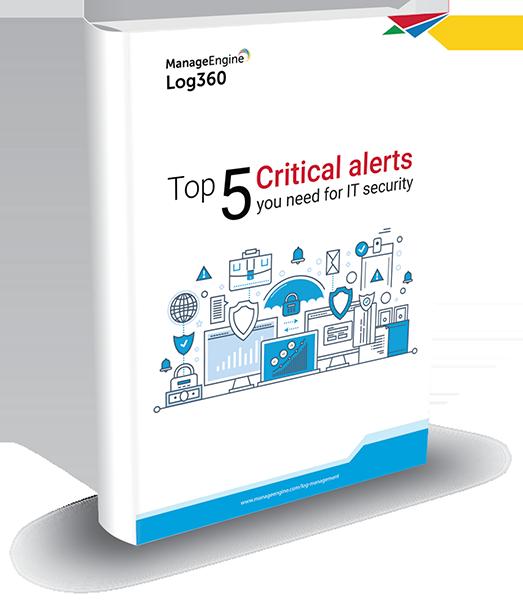Top 5 critical alerts