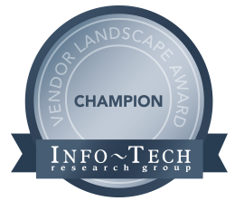 ServiceDesk Plus recognized as a champion by Info-Tech Research Group