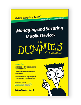 managing and securing mobile devices