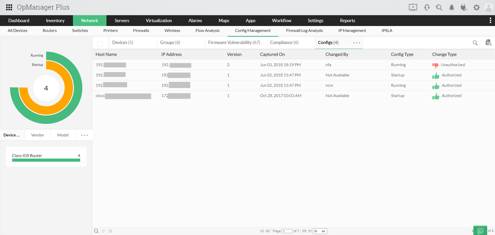 Unified IT Monitoring - ManageEngine OpManager Plus