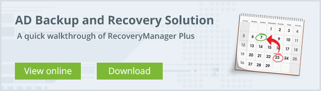 RecoveryManager Plus - An Overview