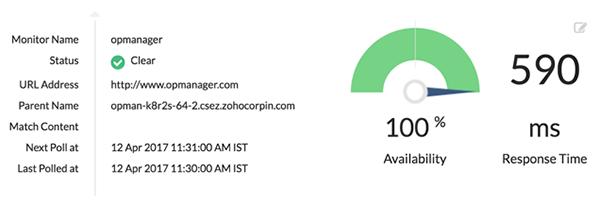 Monitoraggio di URL e script