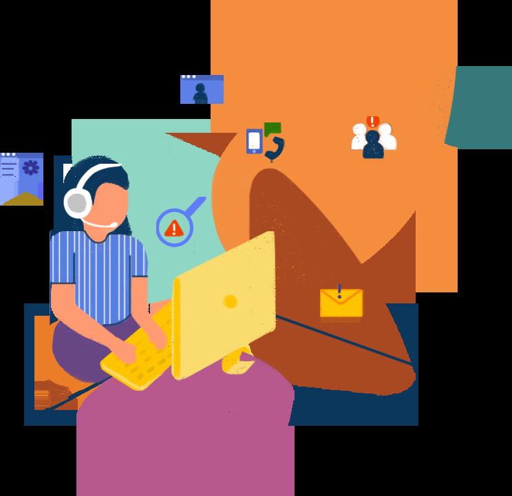 La piattaforma completa di gestione dei servizi per l'impresa digitale