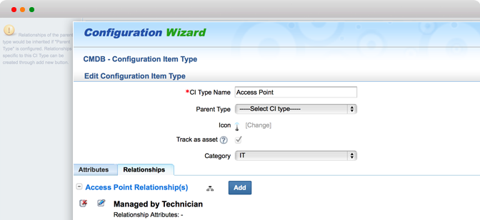 Integra CMDB con altri processi ITIL