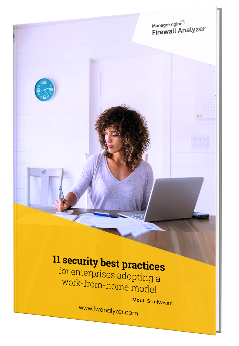 11 security best practices for enterprises adopting a work-from-home model