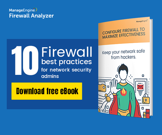 Check Point Firewall Log Analysis–Management–Viewer | ManageEngine