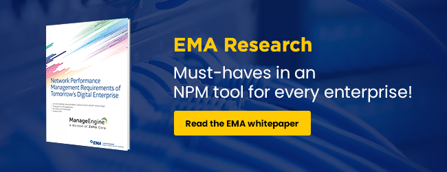 EMA network monitoring white paper