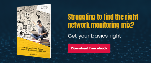 Learn the basics of network monitoring