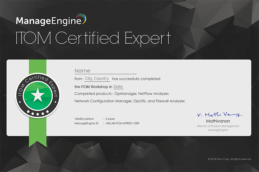 Learn About Network Management Solutions Manageengine Itom Seminar