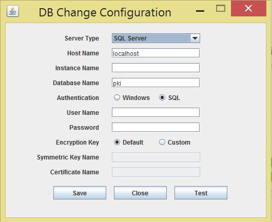 DB-change-config