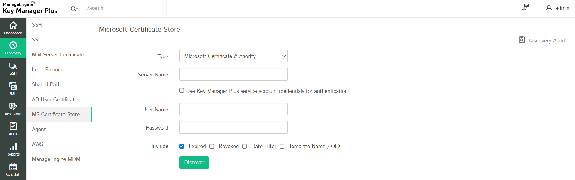 Manage ssl certificates key manager plus to request and acquire certificates from local ca from key manager plus you have to initially generate a certificate signing request then get it signed xflitez Choice Image