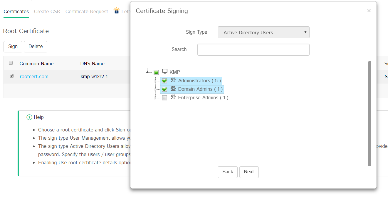 Manage Ssl Certificates Key Manager Plus