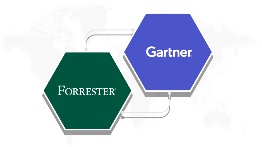 ManageEngine이 다시 한 번 통합 엔드포인트 관리(UEM) 시장에서 입지를 확인했습니다. 2019 Gartner Magic Quadrant 및 Forrester Wave에서 모두 인정 받았습니다.