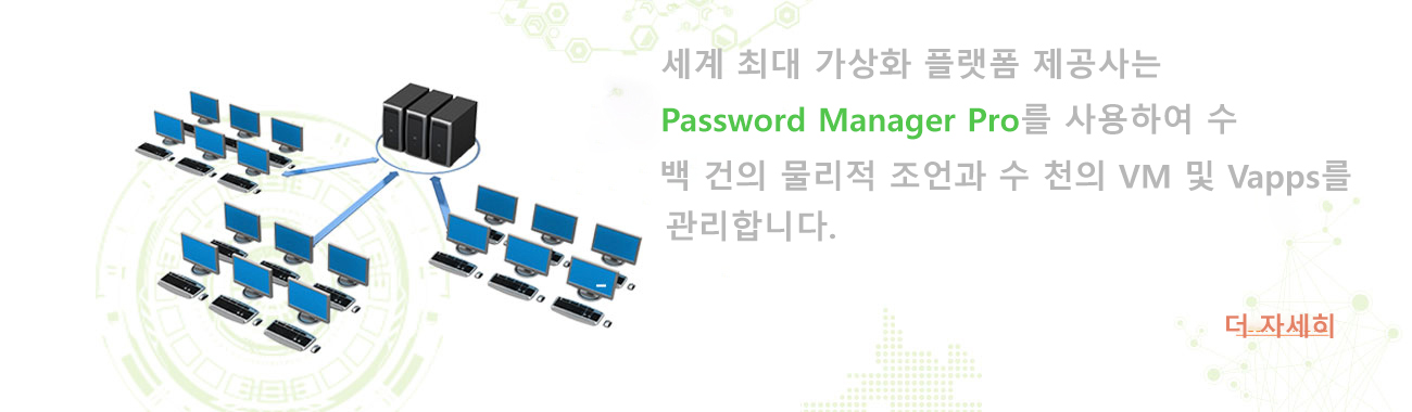 Password Manager Pro - 가상화 플랫폼