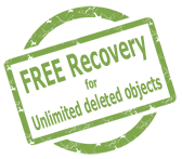 Free Backup and Recovery for Unlimited Deleted Objects