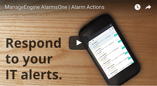 Act on your alerts