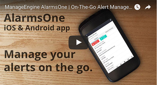 Manage your alerts on the go