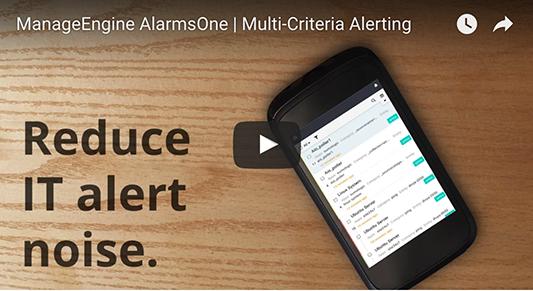 Reduce IT alert noise