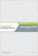 BYOD ManageEngine Desktop Central