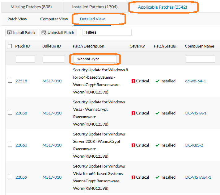 Screenshot ataque de ransomware2