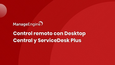 Miniatura video control remoto DC SDP