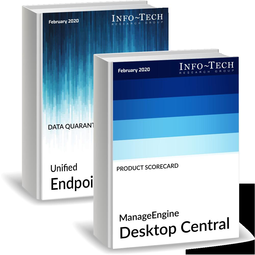 Ebook ManageEngine lider gestion unificada de endpoints info tech research group